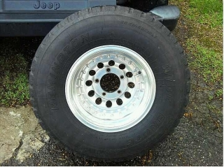 aros 5 roto jeep
