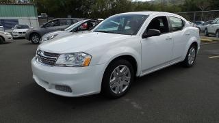 Dodge Avenger Se Blanco 2012
