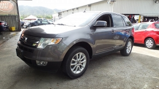 Ford Edge Sel Gris Oscuro 2010