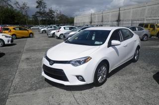 Toyota Corolla Le Blanco 2015