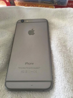 Iphone 6 de at&t space gray (128GB)
