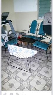juego de balcon, estufa, nevera, lavadora  y maquina de caminar