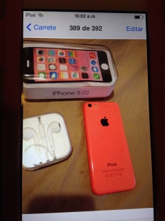 Iphone 5c coral Open mobile