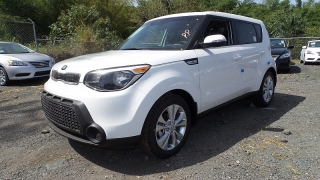 Kia Soul Wave Blanco 2015