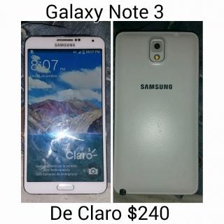 Galaxy Note 3 De Claro