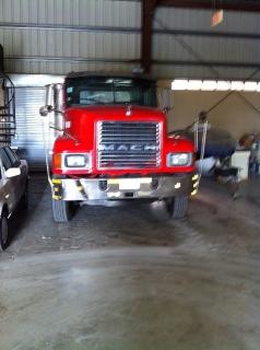 Truck Mack 600 series del 1990