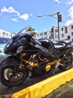 Hayabusa Suzuki 2005 negra