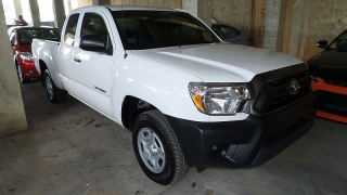 Toyota Tacoma Extended Cab Pickup Blanco 2013