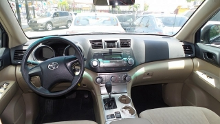 Toyota Highlander Base Azul 2011
