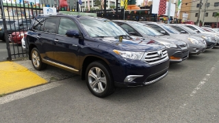 Toyota Highlander Limited Azul 2013