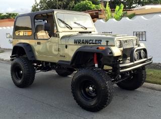"""1989 Jeep Wrangler """"Brutal"""