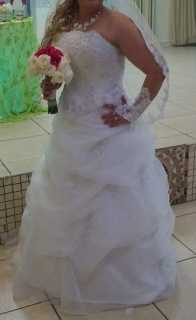 Traje de Novia de David ' Bridal