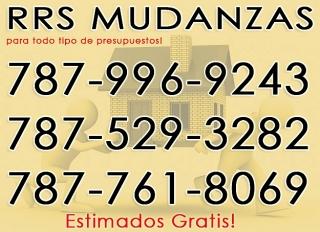 RRS Mudanzas 787-996-9243 Economia y de Calidad