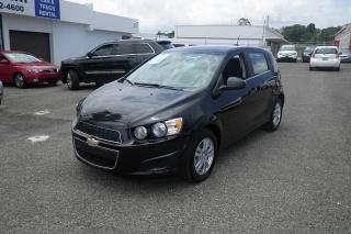 Chevrolet Sonic Lt Negro 2015
