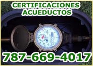 Certificaciones AAA Emergencias Plomería y destapes