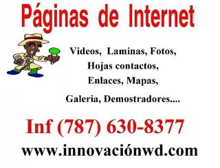 Creación de su Página de internet