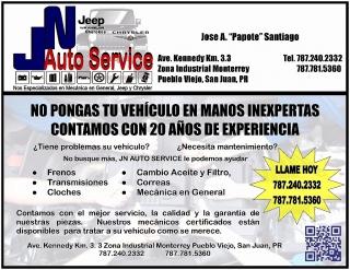 Servicios de Mecanica