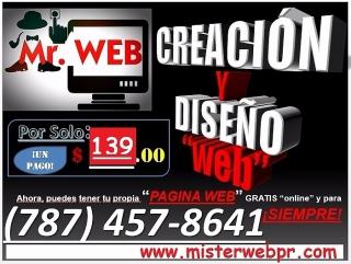 """Creación y Diseño de """"Página-WEB"""""""