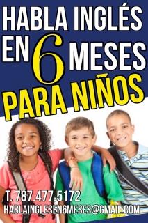 HABLA INGLES EN 6 MESES (INGLES PARA NIÑOS)