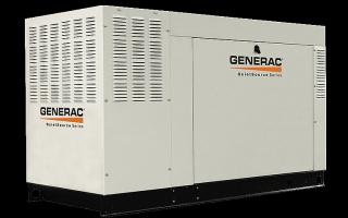 Generator, Tank, Transfer Switch