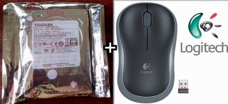 Disco Duro 500GB y Mouse Wireless!