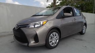 Toyota Yaris L Gris 2015