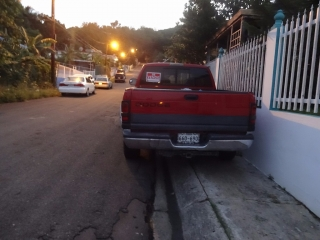 Dodge Ram Magnum v8 1999 Rojo