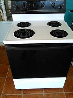 Electric Stove (Whirlpool) Electrical cord not included