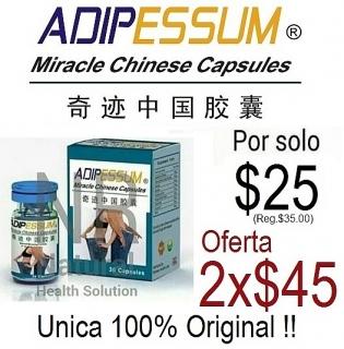 ADIPESSUM MIRACLE CHINESE CAPSULES