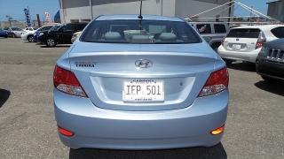 Hyundai Accent Gl Azul 2014