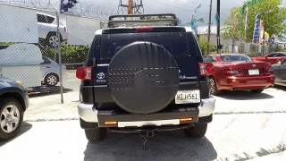 Toyota Fj Cruiser Negro 2008