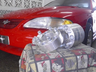 Spacers adapter para ford