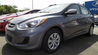Hyundai Accent Gl Gris Oscuro 2016