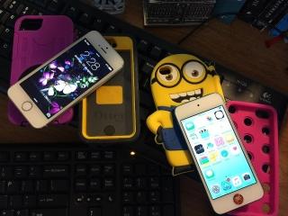 Iphone5S blanco 16gb Claro$270 y Ipod5 Azul $240 Practicamente nuevos. Ambos por $500