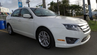 Ford Fusion Sel Blanco 2011