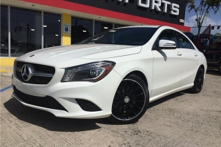 Mercedes  Benz  CLA 250 2014