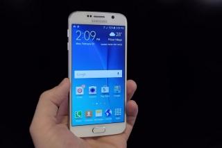 Galaxy 6 edge blanco at&t 32 GB