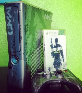 xbox 360 Modern Warfare Limited Edition