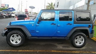 Jeep Wrangler Unlimited Sport Blue 2015