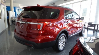 Ford Explorer Base Rojo Vino 2016