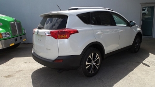 Toyota Rav4 Limited White 2015