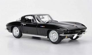 Chevrolet Corvette Negro 1965