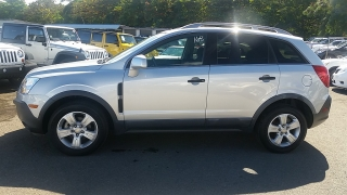 Chevrolet Captiva Sport Fleet LS Plateado 2013