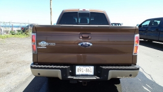 Ford F-150 King Ranch Marron 2011