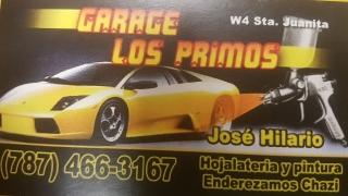 GARAGE LOS PRIMOS