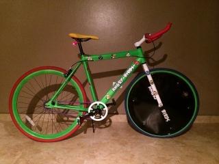 Bicicleta - Fixie - Custumizada - Angry Bird