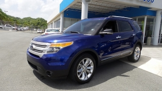 Ford Explorer XLT Azul 2013