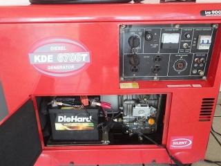 Planta electrica 6700 kw Diesel