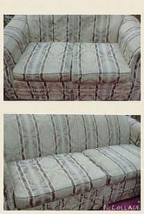 Muebles sala love seat y sofa grande