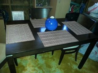 juego comedor 4 sillas